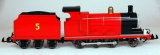 Scale Train 1 22 5 Thomas Friends James The Red Engine 91403