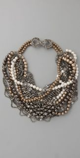 Haute Hippie Pearl & Diamond Necklace