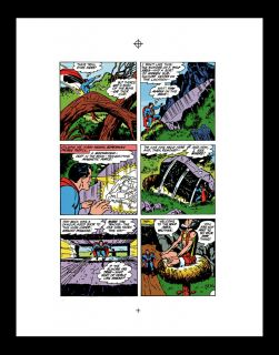 Jack Kirby Jimmy Olsen 133 RARE Production Art Page 14