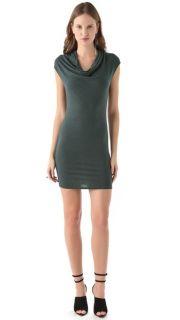 HELMUT Helmut Lang Nova Cowl Neck Dress