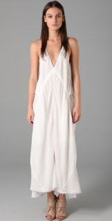 Alexander Wang Washed Satin Long Dress