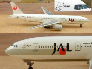 Dragon Wings JAL Japan Airlines B777 1 400 Diecast Plane Model Sirius