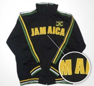 New Imperfect Jamaica Irie Mon Football Futbol Soccer Jacket Olympics