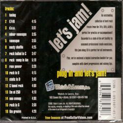 Lets Jam Play Along CD Tracks Band Practice Hard Rock