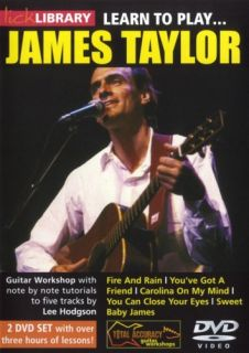 Lick Library Learn to Play James Taylor Guitar 2 DVDS
