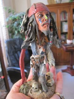 Jack Sparrow Pirates of The Carrabean by NECA