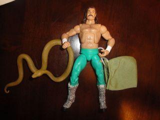 Mattel Legends Jake the Snake Roberts All Stars wwe wrestling figure