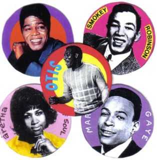 Soul Badges Otis Redding Marvin Gaye James Brown