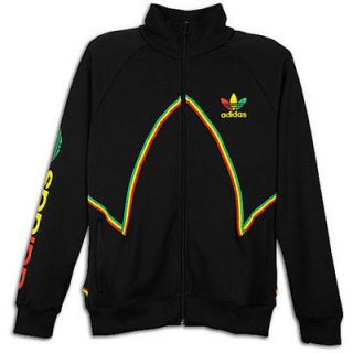 New Adidas Rasta Jacket Jamaica Colors Black Red Yellow Green Mens Sz