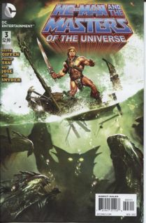 He Man and The Masters of The Universe 3 of 6 DC Comics