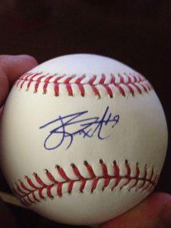 James Paxton Signed MLB Baseball Seattle Mariners Prospect