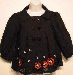 Designer Marc Jacobs Jacket w Artsy Cut Out Detail  Sz 2