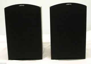Jamo E 530 Bookshelf Speakers   Black   Never Used