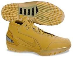 Air Zoom Generation 1 LEBRON JAMES WHEAT GOLD ALL STAR BROWN DS 10 5