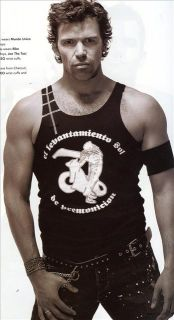 DNA Magazine 62 Gay Men Shirt Neal Crawford Mathias
