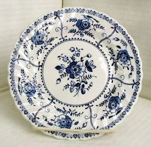 Johnson Brothers Bread Butter Plates Indies Pattern