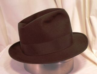 Alessandria Made in Italy Tall Crown James Cagney Fedora L K