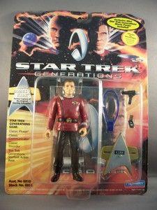 Admiral James T Kirk Figure Generations Star Trek