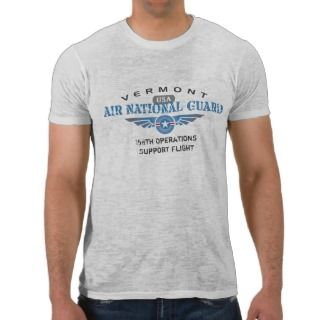 Vermont Air National Guard Tshirts
