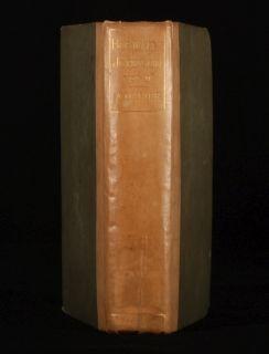1884 4 Vols Life of Samuel Johnson by Boswell Napier