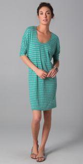 Velvet Babs Long Sleeve Striped Dress