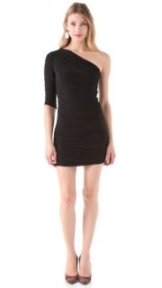 Tbags Los Angeles One Shoulder Body Con Dress
