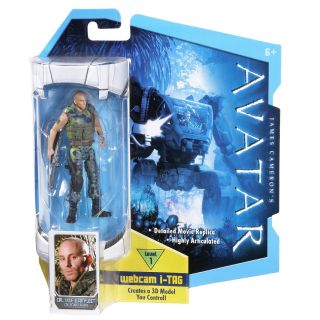 Lyle Wainfleet Action Figure Mattel James Cameron Webcam I Tag