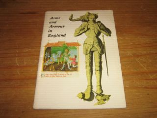 Arms and Armour in England Sir James Mann Revised by Duffy 1969
