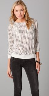 Marc by Marc Jacobs Cleo Print Blouse
