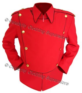 Pics/michael jackson military jackets/Michael jackson red jacket