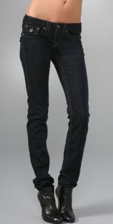 True Religion Disco Julie Big T Stovepipe Jeans