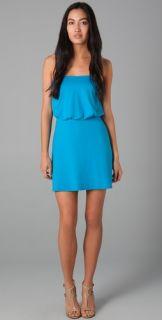 Susana Monaco Blouson Mini Dress