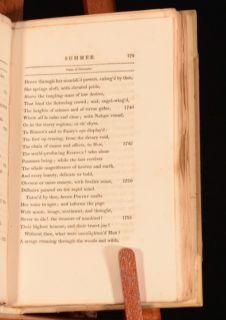 1813 The Seasons James Thomson Poetry