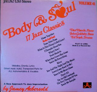 Jamey Aebersold Body and Soul Vol 41 2LP No Book NM