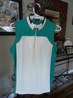 DKNY Golf Jamie Sadock LLC s L Top Sizes XS MSRP $85 00 Laurel