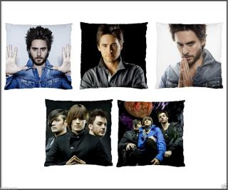 New Jared Leto 30 Thirty Seconds to Mars Cushion Case 18 x 18