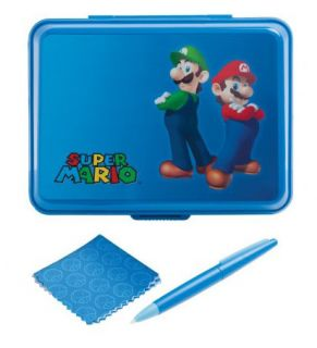 Official DS Lite 3DS DSi XL Super Mario Universal Character Hard Case