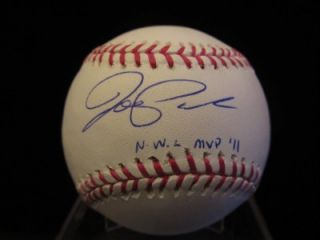 Joe Panik Signed Rawlings MLB Baseball JSA San Francisco Giants Future