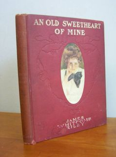 SWEETHEART OF MINE by James Whitcomb Riley HC Christy Illustrations