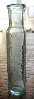 Neat Dr McLanes American Worm Specific Patent Medicine Bottle 1890S