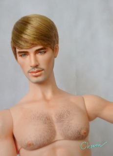 Teen Boy Style Wig for Deva Tonner and Jamieshow Male Doll by Chewin