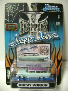 Jesse James/West Coast Choppers NEW Chevy Wagon w/ SLAM action  2004