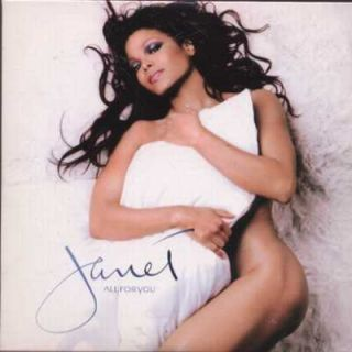Janet Jackson All for You UK Promo CD Single VSCDJ1801 M M