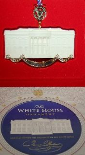 HISTORICAL ASN Presidential Christmas Ornament JAMES HOBAN ARCHITECT