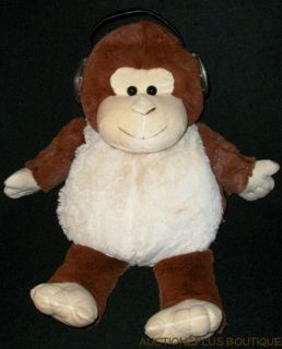 Jay at Play Iflops Monkey Plush Speakers LED MP3 MP4 CD