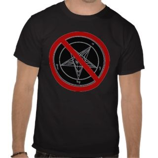 No Devil (Baphomet) Symbol T shirts