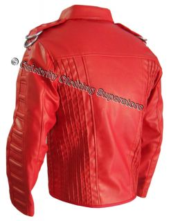 Michael Jackson Red Man in Mirror Jacket Tailor Made