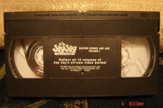 Jay Jay The Jet Plane Super Sonic Jay Jay V 1 Video VHS Free 1st Class
