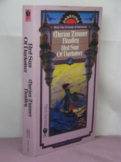 1st 10 Signatures Red Sun of Darkover Ed by Marion Zimmer Bradley 1987