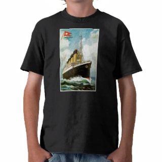 RMS TSS Titanic Passenger Ship Tshirt